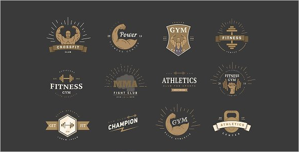 Sports Fitness Logo Design Template