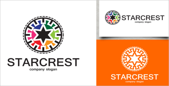 Starcrest Logo Design