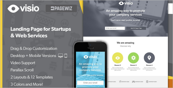 Start up Pagewiz Responsive Template