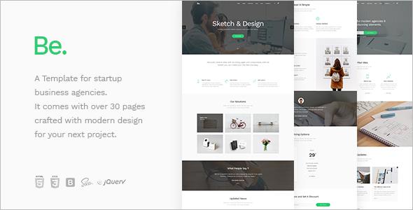 Startup Business Website Template
