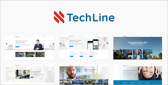 Startup Web services Template