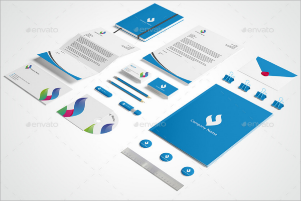 Stationary Mock-up Template Outlook