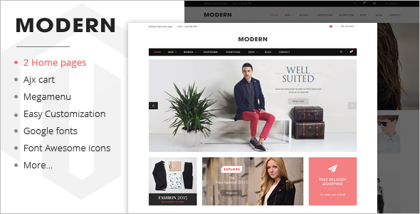 Stylish Responsive Shopify Template