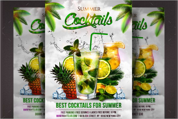 Summer Cocktail Party PSD