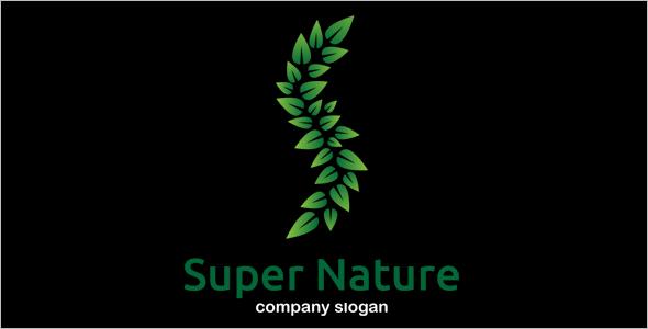 Super Nature Logo Design Template
