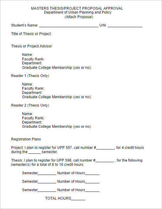 Technical Project Proposal Template