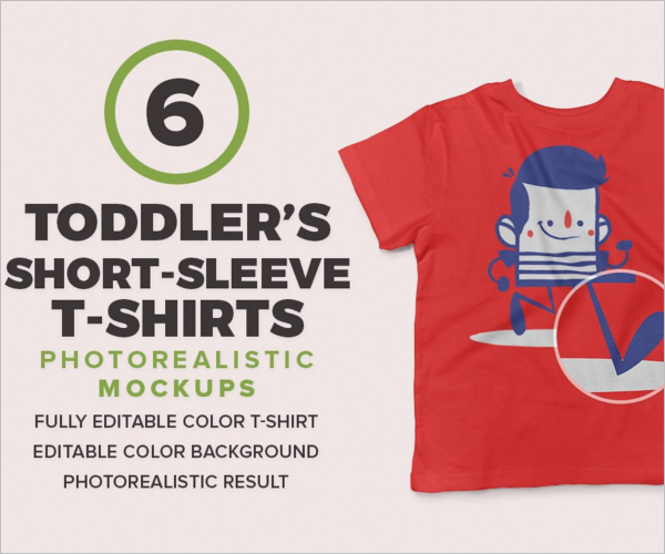 Toddler kids T Shirt Design