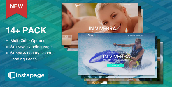 Travel Agency Marketing Instapage Template