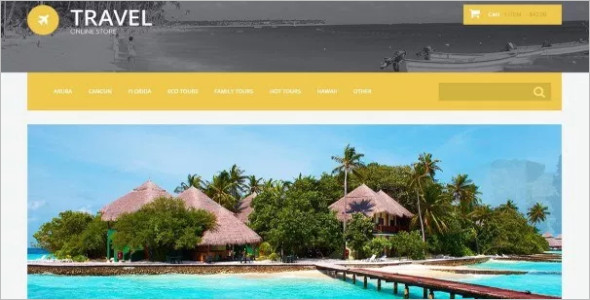 Travel OsCommerce Template