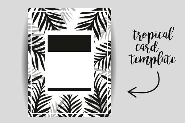 Tropical Poster Design Template