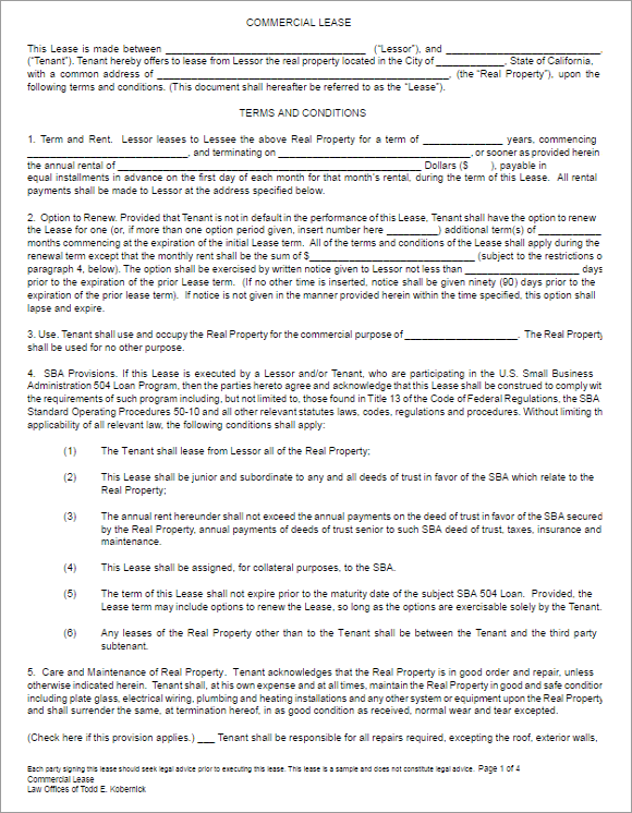Unique Legal Agreement Form