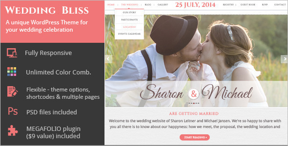 Unique-Wedding-WordPressTemplate