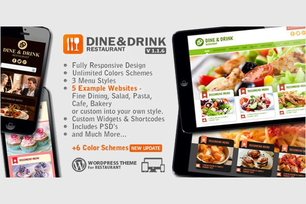 Unlimited Restaurant Food Menu