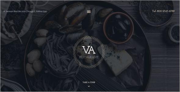 VA Restaurant Joomla Template