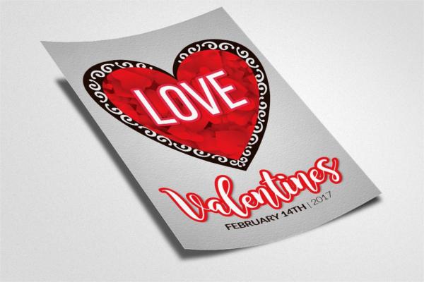Valentine Brochure Design Model