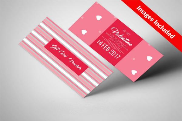 Valentine Business Card Template
