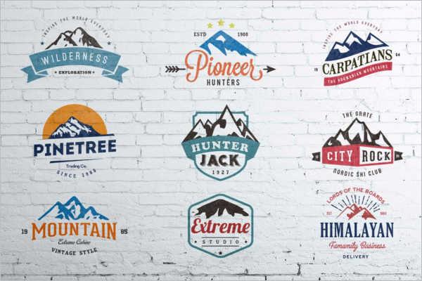 Vintage Badges & Stickers Design