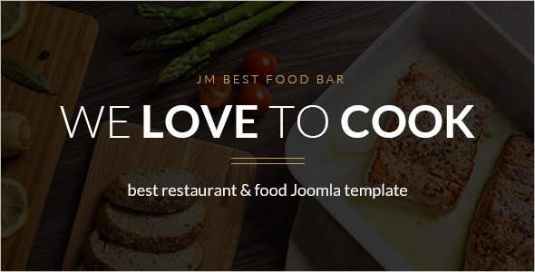Vintage Restaurant & Cafe Joomla Template