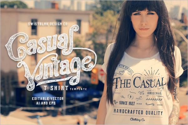 Vintage T-Shirt Design
