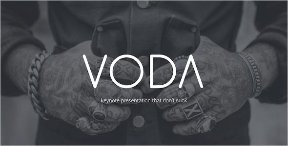 Voda Creative Modern Powerpoint Template