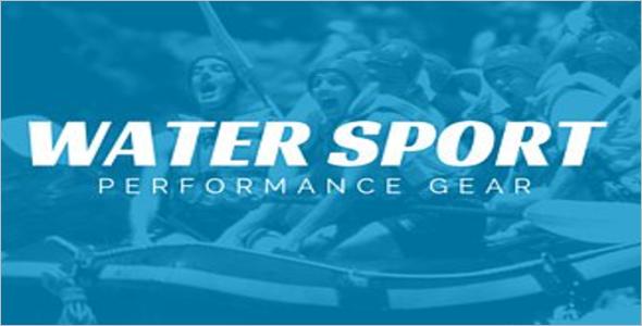 Water Sports Logo Templates