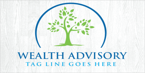 Wealth Advisory Logo Design
