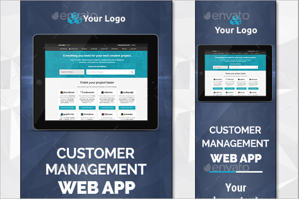 Web App Banner Design