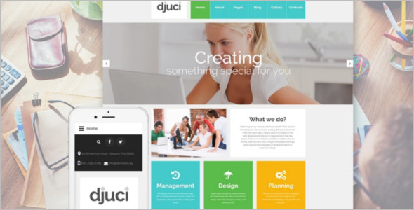 Web Design Agency Joomla Template