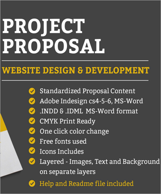 18 Project Proposal Templates Pdf Free Premium Word Documents