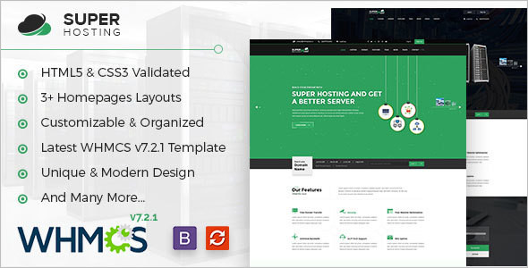 Webhosting Technology Website