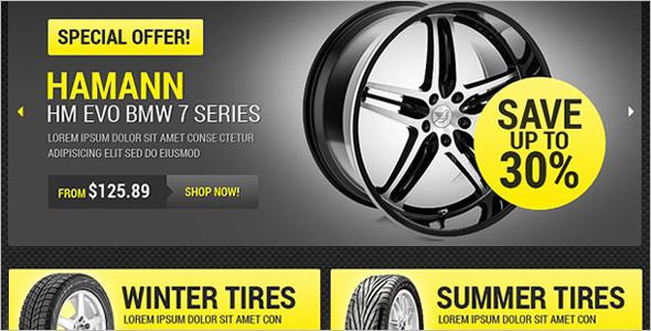 Wheels & Tires OsCommerce Template
