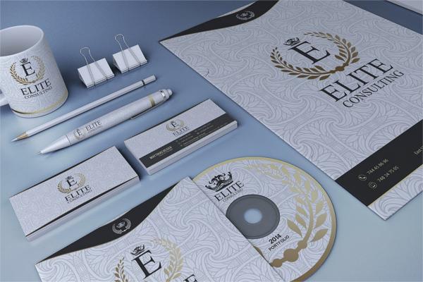 White Stationary Design Ideas