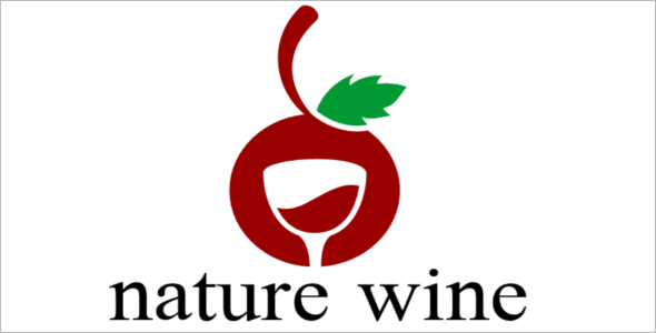 Wine Logo Design Template