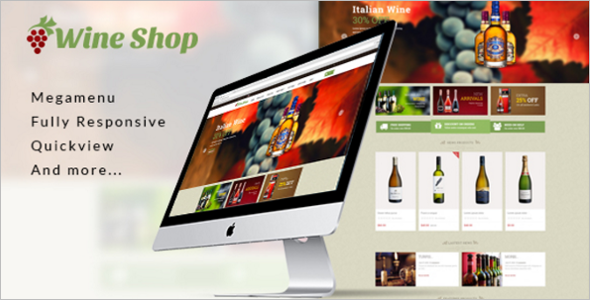 Wine Shopify Theme