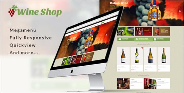 Wine Shopify Theme