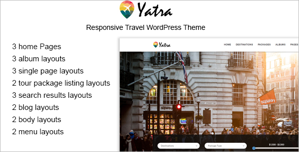 Yatra Google Slider Theme