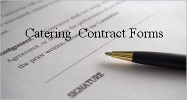 Catering Contract Form Templates