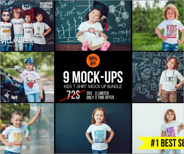 kids T Shirt Design Bandle