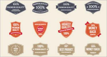 22+ Badge Stickers Design Vectors Free Templates