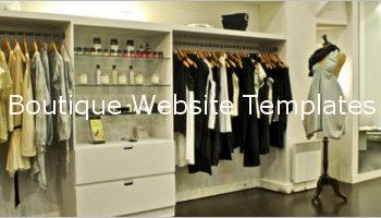 Boutique Website Design Templates
