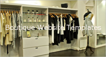 Boutique Website Design Templates