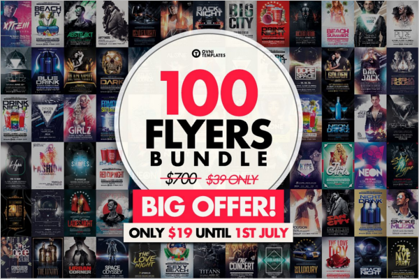 100 Flyer Design