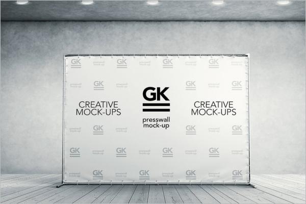 3D Creative Logo Mockup