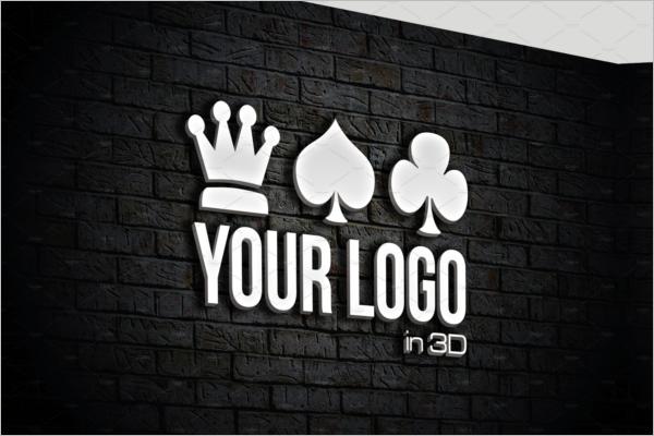 60 3d Wall Logo Mockups Free Premium Templates