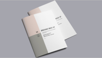 A4 Brochure Mock Up Templates