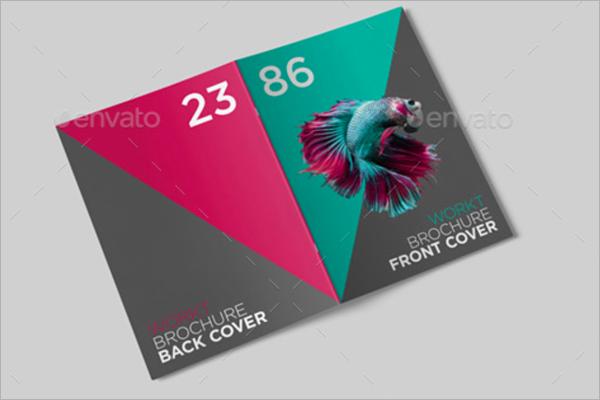 A4 Brochure Mockup Vector
