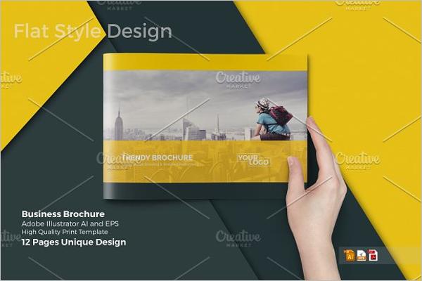 A4 Business Catalog Design