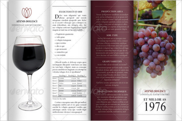 A4 Unique Brochure Design