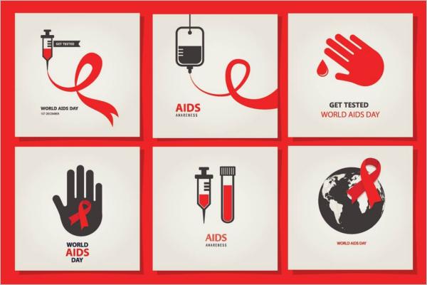AIDS & HIV Poster Design
