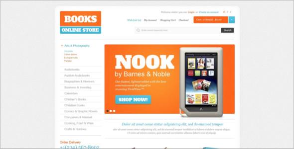 Abstract BookShop OpenCart Theme